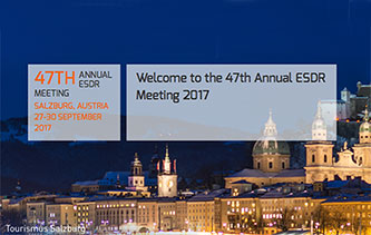 ESDR 2017 welcome page European Society for Dermatological Research