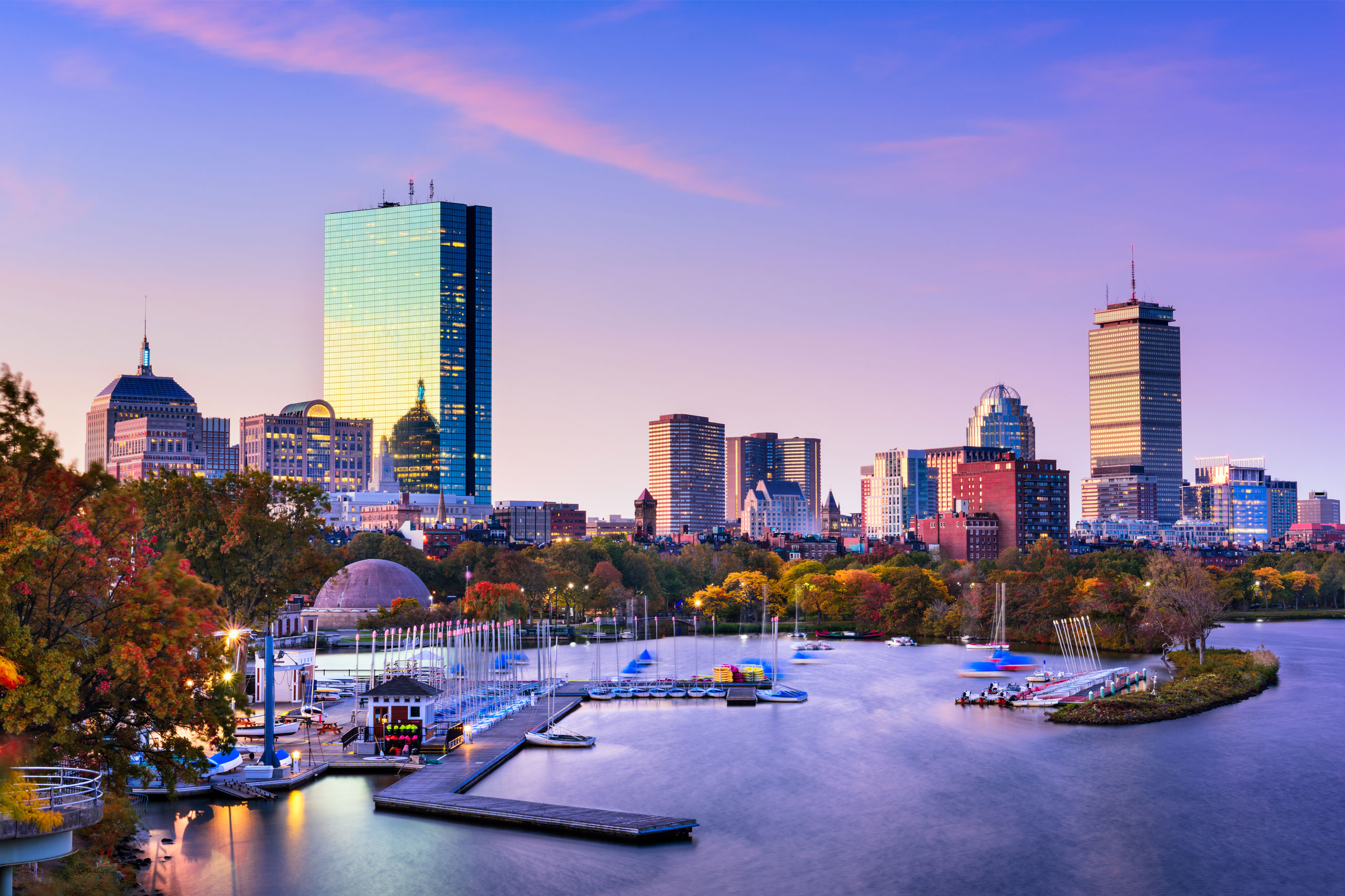 Boston Skyline. We have dream job opportunities in Toulouse, France and Boston, MA