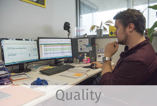 one skin expert of our quality team managing our certification