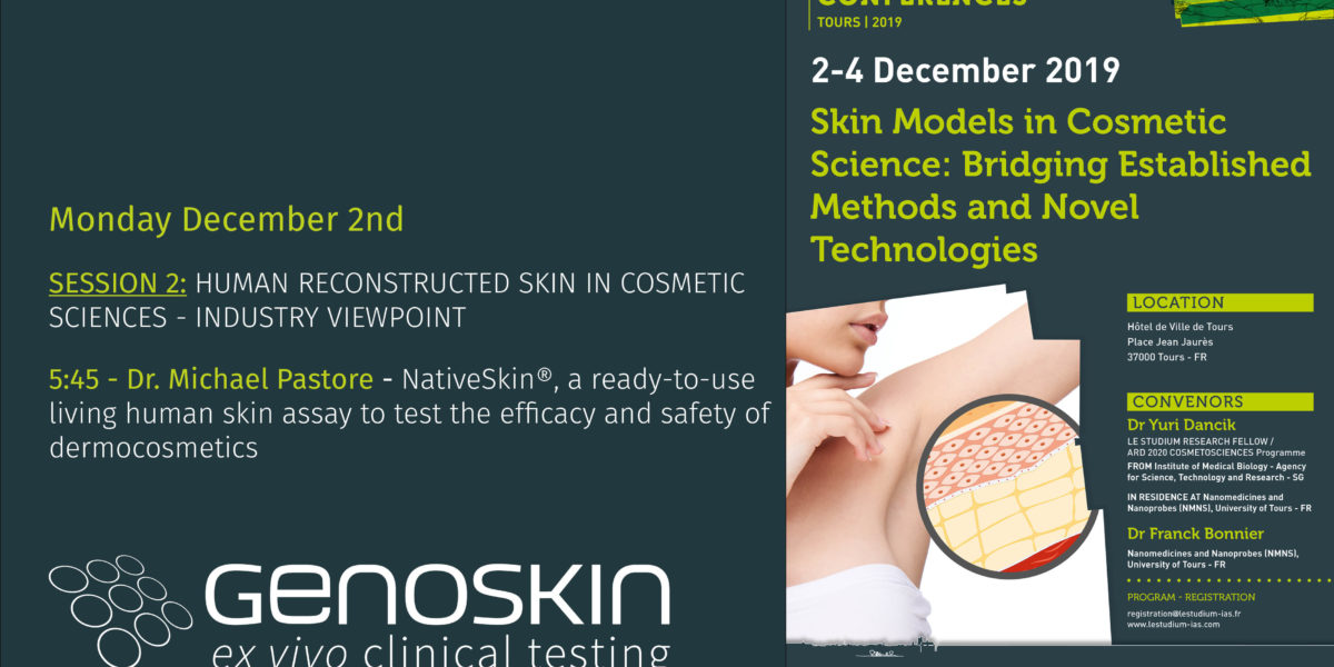 Illustration for the Skin Models in Cosmetic Science Conference by Le Stadium